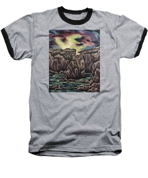 In The Land Of Dreams 2 Baseball T-Shirt by Cheryl Pettigrew