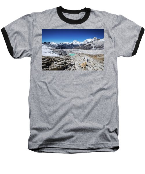 In The Middle Of The Cordillera Blanca Baseball T-Shirt