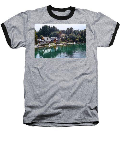 Rustic Museum In The Argentine Patagonia Baseball T-Shirt