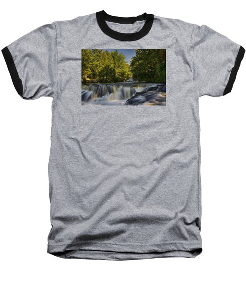 In The Middle Of The Middle Branch Baseball T-Shirt by Dan Hefle