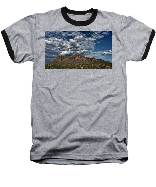 Baseball T-Shirt featuring the photograph In The Midst Of The Superstitions  by Saija Lehtonen