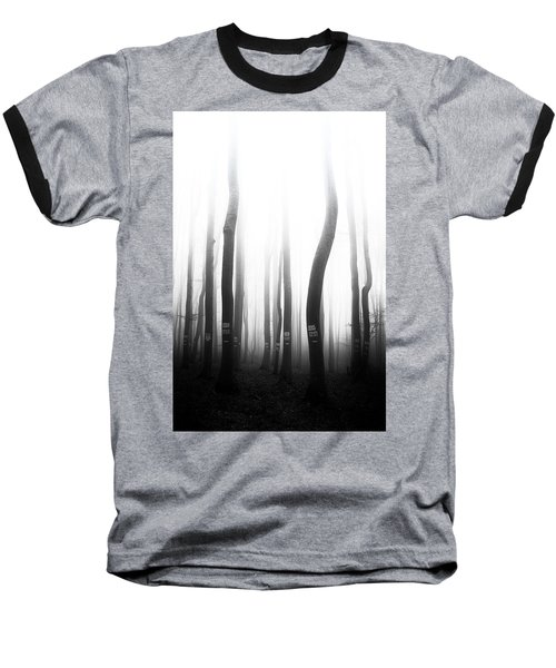 In The Misty Forest Baseball T-Shirt