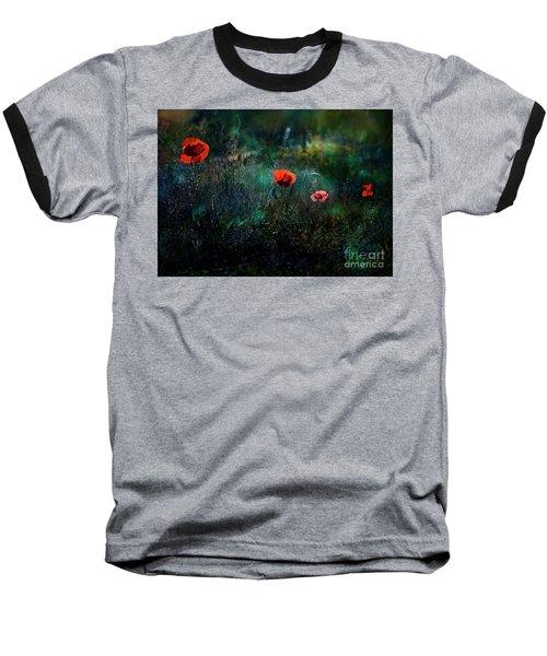In The Morning Baseball T-Shirt by Agnieszka Mlicka