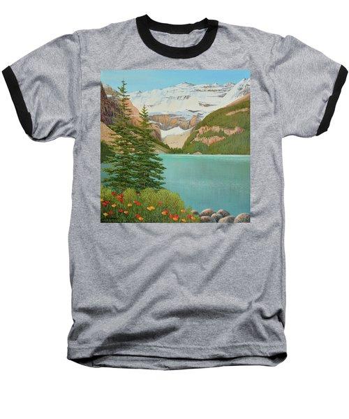 In The Mountain Air Baseball T-Shirt