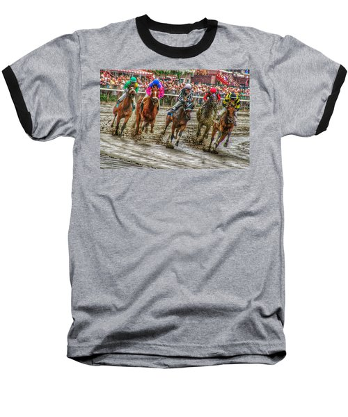 In The Mud Baseball T-Shirt