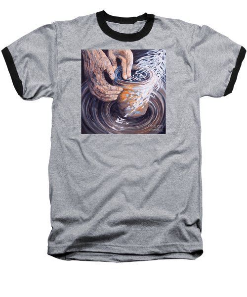 In The Potter's Hands Baseball T-Shirt