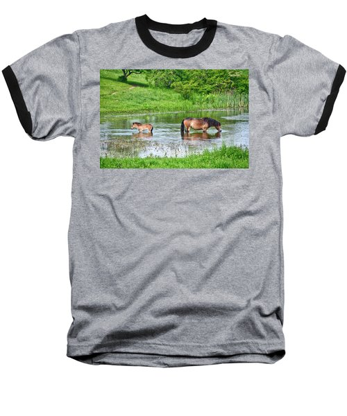 In The Puddle 1 Baseball T-Shirt