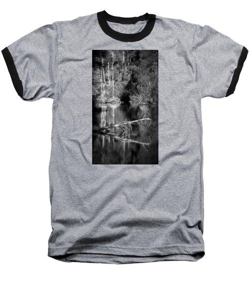 Baseball T-Shirt featuring the photograph In The Quiet by Allen Beilschmidt