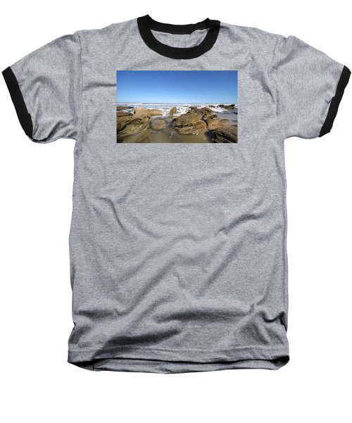 In The Rocks Baseball T-Shirt by Robert Och