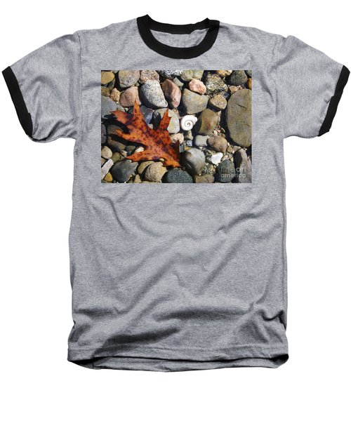 In The Shallows Baseball T-Shirt by Gerald Strine