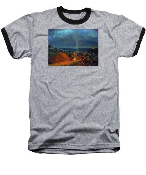 In The Spotlight Baseball T-Shirt by Donna Tucker