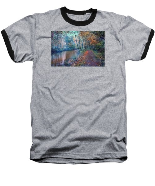 In The Stillness Of The Morning Baseball T-Shirt by John Rivera