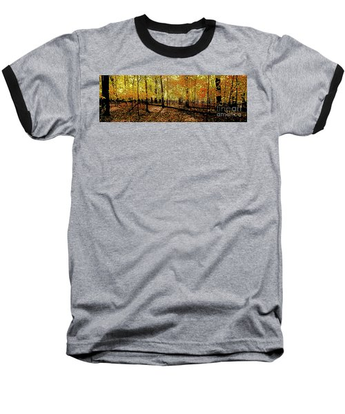 In The The Woods, Fall  Baseball T-Shirt