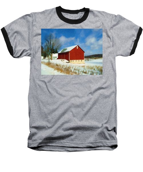 In The Throes Of Winter Baseball T-Shirt