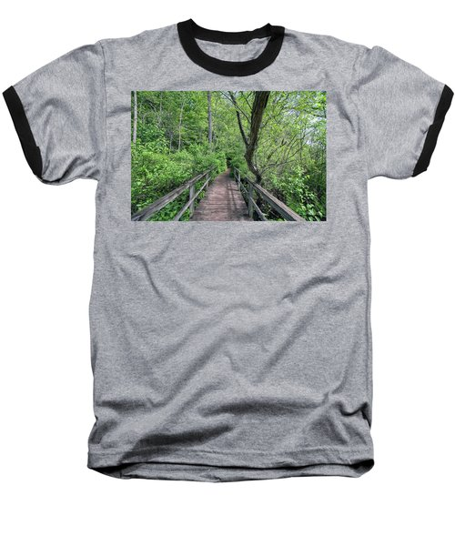 In The Trees Baseball T-Shirt