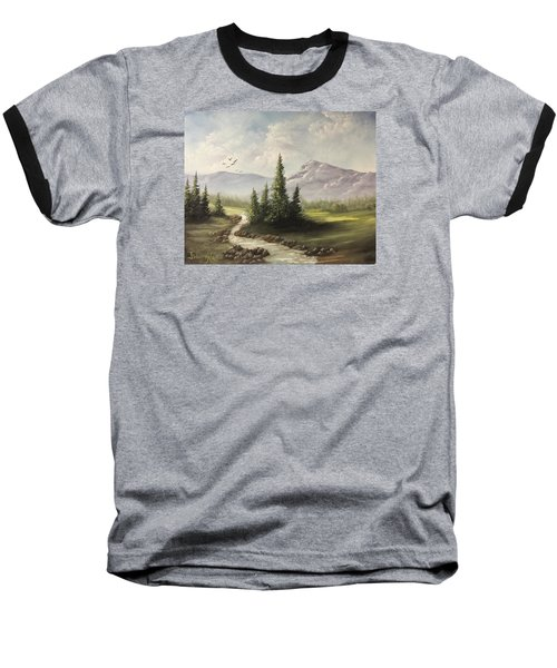 In The Valley  Baseball T-Shirt