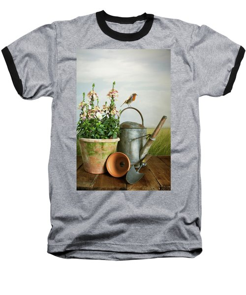In The Vintage Garden Baseball T-Shirt