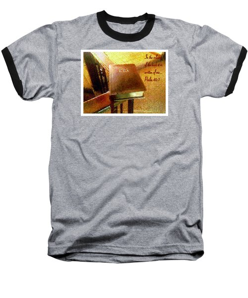 In The Volume Of The Book Baseball T-Shirt