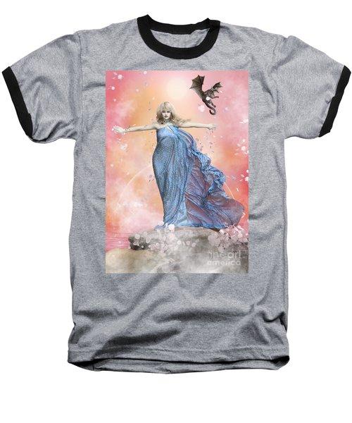 In The Wind Baseball T-Shirt