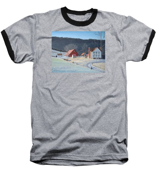 In The Winter Of My Life Baseball T-Shirt by Norm Starks