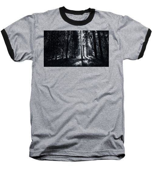 In The Woods 6 Baseball T-Shirt