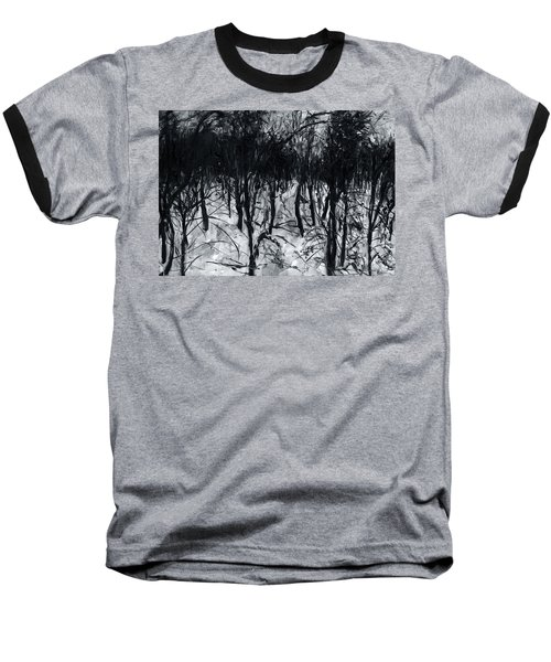 In The Woods 7 Baseball T-Shirt