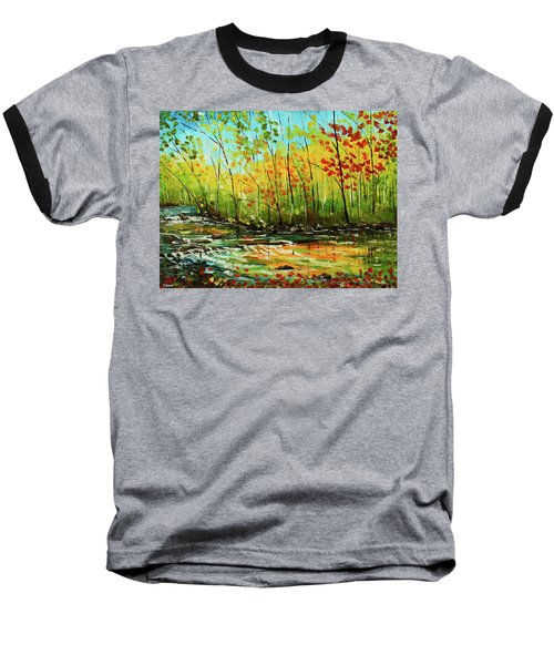 In The Woods Baseball T-Shirt