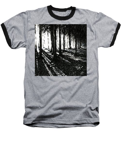 In The Woods 3 Baseball T-Shirt