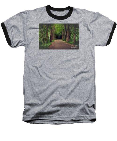 In To The   Deep Dark Woods  Baseball T-Shirt