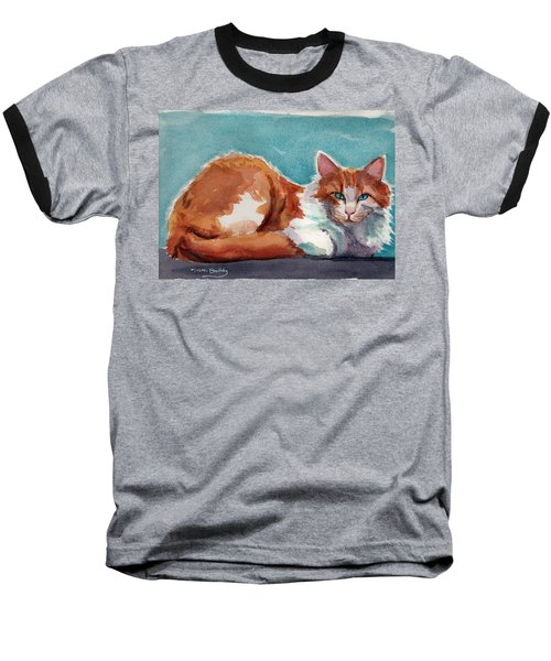 In Turquoise Baseball T-Shirt