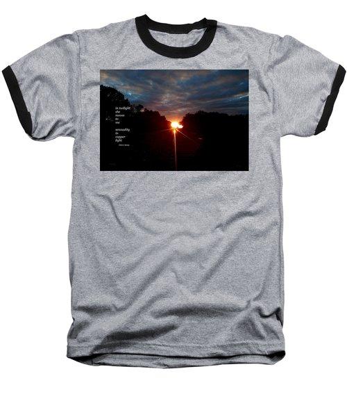 In Twilight Baseball T-Shirt