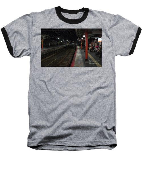 Inari Station, Kyoto Japan Baseball T-Shirt