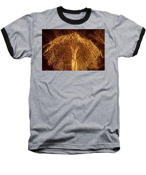 Incandescent Branches  Baseball T-Shirt