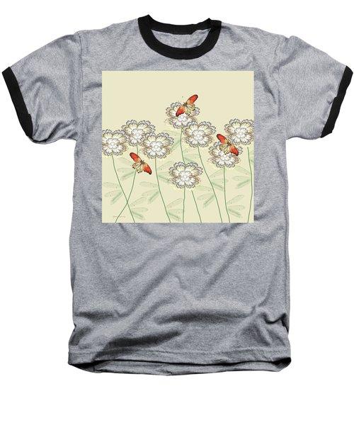 Incendia Flower Garden Baseball T-Shirt