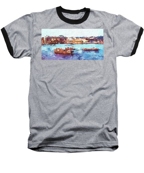 Inchon Harbor Baseball T-Shirt