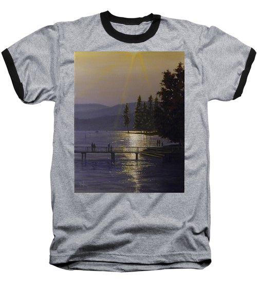 Independence Point, Lake Coeur D'alene Baseball T-Shirt