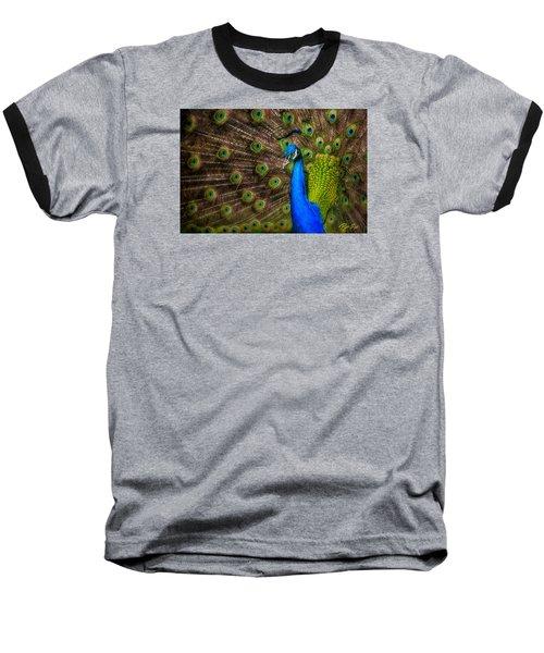 Baseball T-Shirt featuring the photograph India Blue by Rikk Flohr