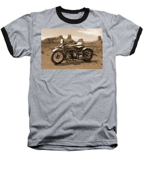 Indian 4 Sidecar Baseball T-Shirt