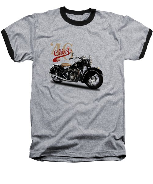 Indian Chief 1946 Baseball T-Shirt