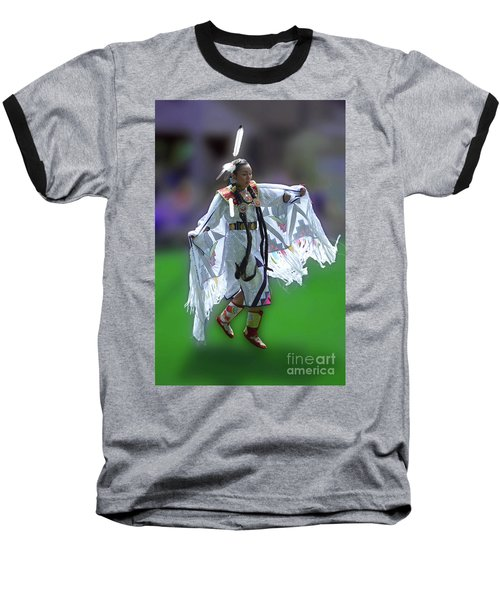 Indian Dancer Baseball T-Shirt
