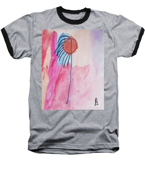 Indian Flower Baseball T-Shirt