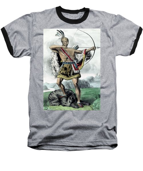 Indian Hunter Baseball T-Shirt