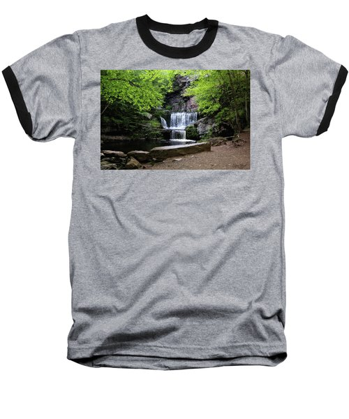 Indian Ladder Falls Baseball T-Shirt