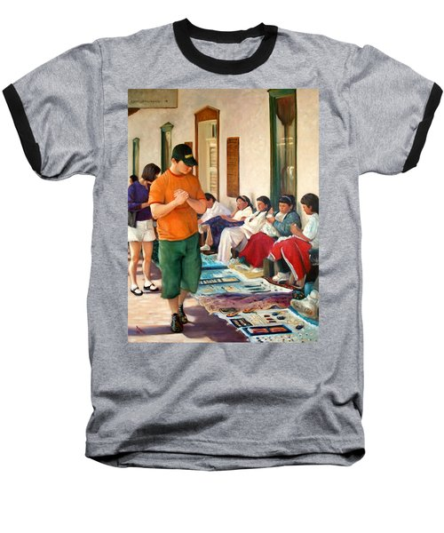 Indian Market Baseball T-Shirt by Donelli  DiMaria