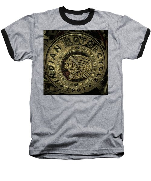 Indian Motorcycle Logo Baseball T-Shirt