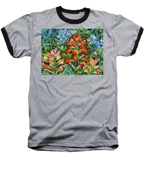 Indian Paintbrush Baseball T-Shirt