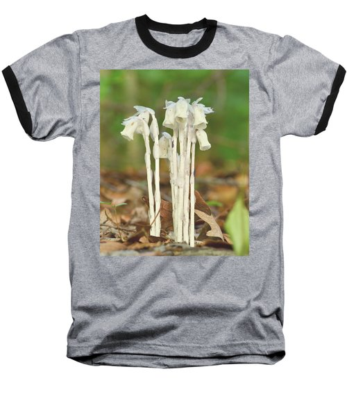 Indian Pipes Baseball T-Shirt