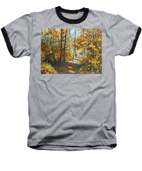 Indian Summer Trail Baseball T-Shirt