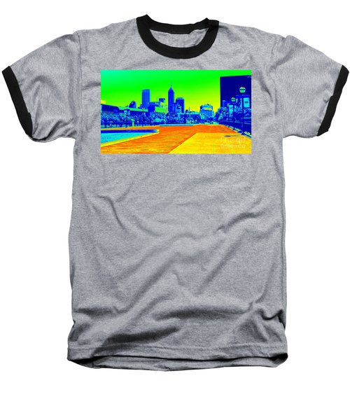 Indianapolis Heat Tone Baseball T-Shirt