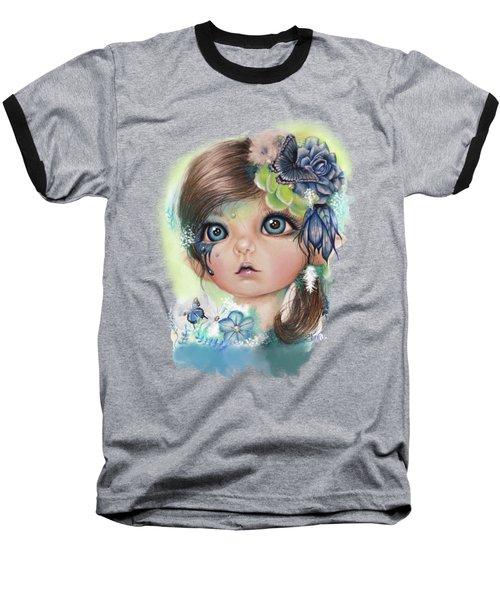 Indigo - Butterfly Keeper - Munchkinz By Sheena Pike  Baseball T-Shirt